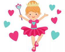 Prinzessin Aufkleber Sticker Autoaufkleber Scheibenaufkleber