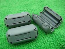 10pcs TDK 5mm Clip On EMI RFI Filter Snap Around Ferrite NEW