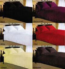 Luxury SATIN STRIPE 3PC Duvet Cover Set Pillowcase Quilt in Single Double King