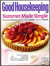 Good Housekeeping August 2009 Summer Made Simple