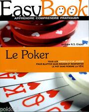 Livre EASY BOOK : POKER 376 pages conseils d'un joueur en français
