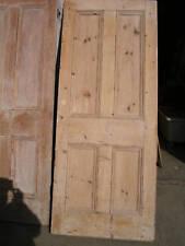Old Victorian reclaimed 4 four panel pine door doors