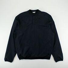 Polar Golf Club Pullover Jacket in Black Size S M L