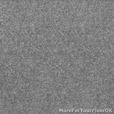 Slate Grey Feltback Twist Bedroom Carpet, Cheap Roll, 4m Wide