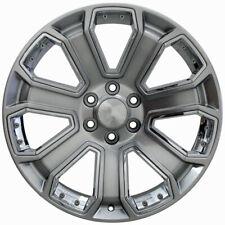 Set- 20 inch Hyper Black GMC Style Wheels-Yukon Sierra Tahoe Silverado Denali