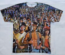 Custom Warriors Gang T Sublimated shirt laney movie 70s 80s bred toro