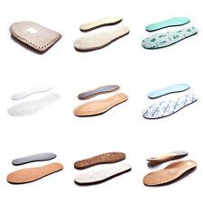Zapatos de Cuero de Piel de Oveja Plantillas Unisex Lana Fieltro de coco carbón activo Térmico N