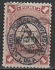 Peru 1883 YV 71  CANC  VF