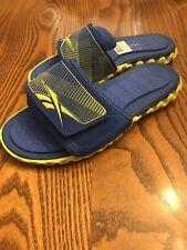 "Juniors Reebok ""Zig Nano"" Slides/Shoes Blue/Yellow Unisex"