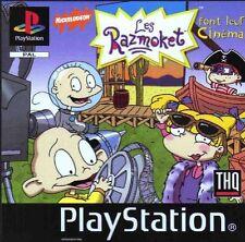 Rugrats: Studio Tour (Sony PlayStation 1, 1999) - US Version