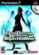 PlayStation2 Dance Dance Revolution SuperNova 2 VideoGames
