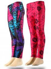 Mädchen Sporthose Leggings Hose Monster High pink schwarz 116 128 140 152 #301