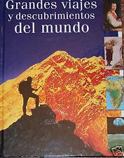 Grandes viajes y descubrimientos del mundo - NEW -