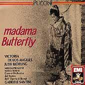 Puccini: Madama Butterfly (CD, Nov-1990, 2 Discs, EMI Music Distribution)