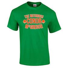 Conor The Notorious McGregor Ireland MMA UFC Irish Legend Gift T-Shirt to 5XL