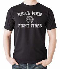 Gift For Firefighter T-Shirt Real Men Fight Fires Tee Shirt