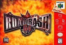 ROAD RASH N64 NINTENDO 64 GAME COSMETIC WEAR