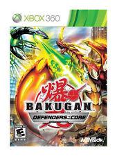 Bakugan: Defenders of the Core (Microsoft Xbox 360, 2010)