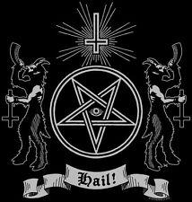 HAIL! Babydoll T-Shirt occult devil black magic Satan Lucifer witch Hell metal