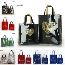 Fashion Harrods London PVC Tote Bag Top-handle Casual Shopping handba
