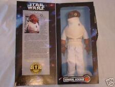 "Kenner Star Wars 12"" Admiral Ackbar Figure. New in Box!"