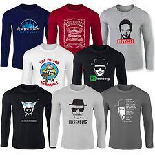 HEISENBERG BREAKING BAD LOS POLLOS HERMANOS JESSE PINK BETTER CALL SAUL T Shirts