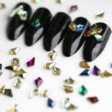 20 50 pcs Nail Art Rhinestones Glitter Crystals Gems for 3D Tips DIY Decoration