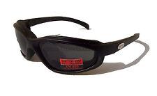 CURV-Z BI-FOCAL 1.50 Padded Motorcycle Biker Rider Sunglasses  UV400 Smoke Lens