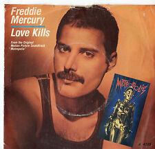 "Freddie Mercury - Love Kills 7"" Single 1984"