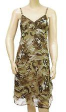 Robe bretelles camouflage kaki DDP femme F9CAEP4