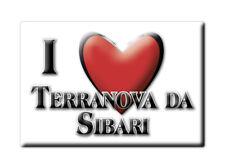 CALAMITA CALABRIA FRIDGE MAGNET MAGNETE SOUVENIR LOVE TERRANOVA DA SIBARI (CS)