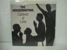 THE HOUSEMARTINS - CARAVAN OF LOVE/WHEN I FIRST MET JESUS 45 RPM