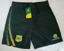 BRAND NEW FFA PREMIUM BOYS SOCCEROOS AUSTRALIA FOOTBALL SHORTS - VARIOUS SIZES