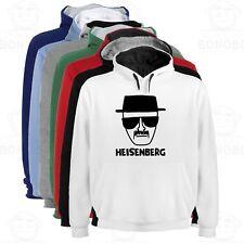 Sudadera Capucha Bicolor Heisenberg A Breaking Bad varias tallas y colores