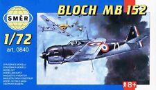 Bloch MB 152-WW II fighter (armée de l'air / français af mkgs) 1/72 SMER ex HELLER