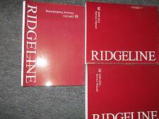 2009 2010 2011 HONDA RIDGELINE Service Shop Repair Manual BOOK FACTORY SET NEW x