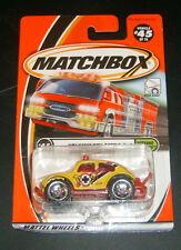 Matchbox Weekend Cruisers #45 VOLKSWAGEN BEETLE 4x4 2001 Mattel  New in package