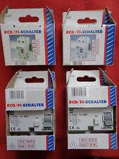 Düwi RCD FI Schalter, 2- oder 4-polig, 25 A oder 40 A, Fehlerstromschutzschalter