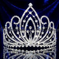 "bijou tête Diadème élection Miss Pageant wedding tiara cristal clair ""Athéna"""