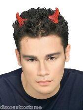 Red Glitter Devil Horns Monster Animal Fancy Dress Halloween Costume Accessory