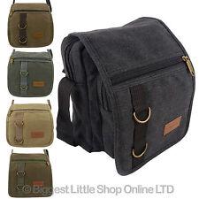 Unisex Multi propósito pequeñas shoulder/travel utilidad Lona práctica práctico 5 Cols