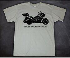 Tshirt T-Shirt Motorradfahrer Motorrad Victory Cross Country Tour