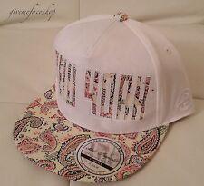 NY kids snapback caps, paisley white boys, girls flat peak baseball hats hiphop