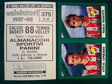 CALCIATORI 1987-88 87-1988 n 375 CREMONESE SERIE B - Figurine Panini con velina