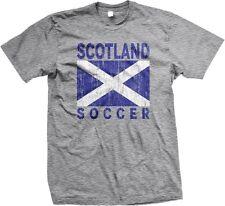 Scotland Soccer Flag Scottish World Cup Nationality Ethnic Pride -Mens T-shirt