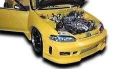 KBD Body Kits BW Spec Polyurethane Front Bumper Fits Honda Civic 2DR / 3DR 92-95