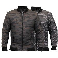 new mens MA1 jacket Soul Star harrington coat padded camo military bomber winter