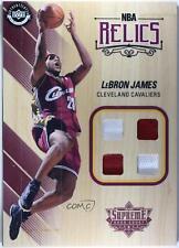 2017-18 Upper Deck Supreme Hardcourt NBA Relics LeBron James #NBAR-LJ
