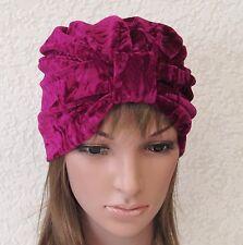 Turban, fashion turban hat, women's velvet turban hat, bad hair day hat