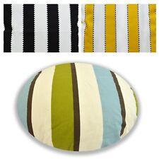 Flat Round Shape Cover*A-Grade Cotton Canvas Floor Seat Chair Cushion Case*LL5